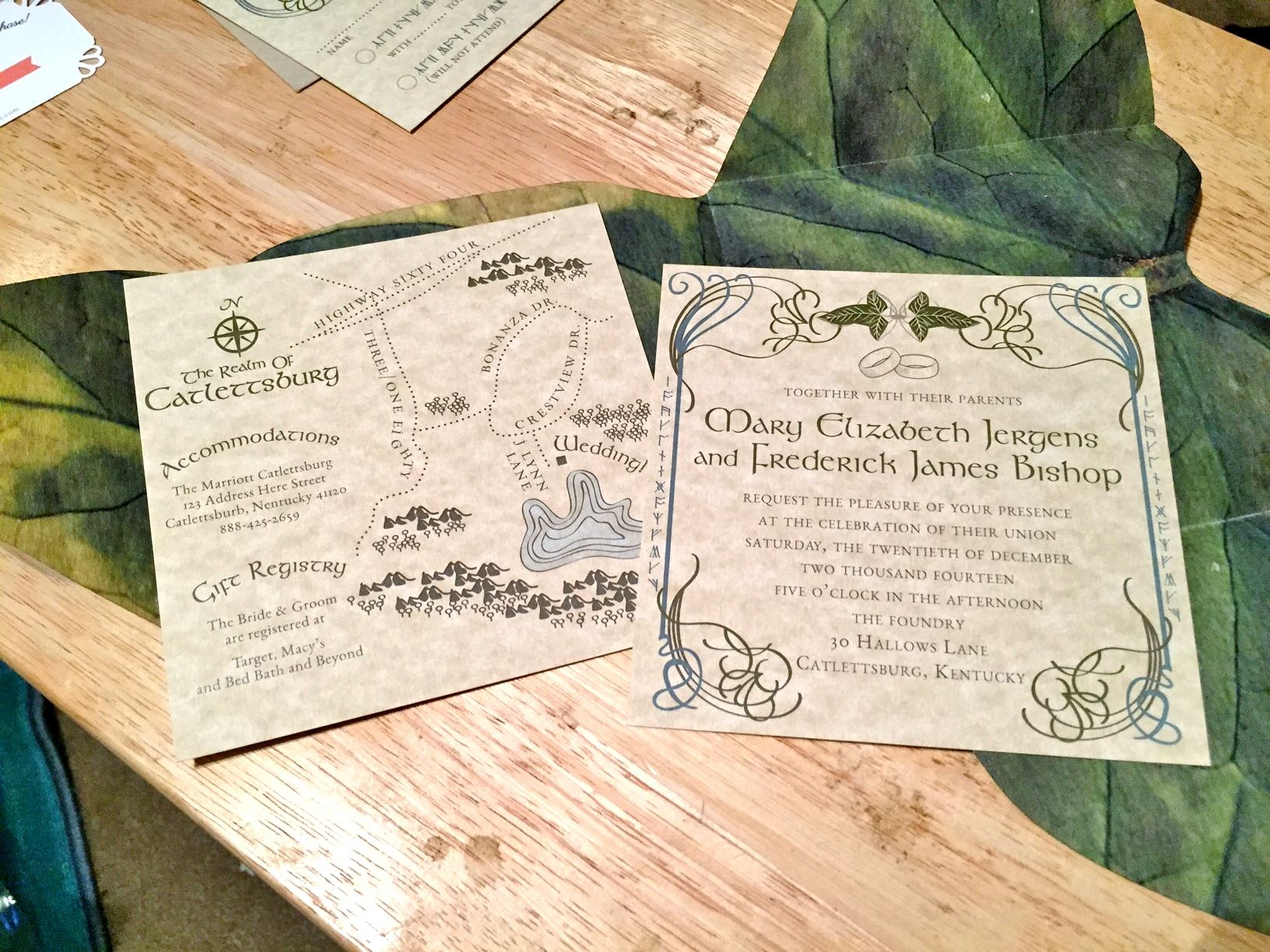 An Actual Review Of The Best Lord Rings Wedding Invitation